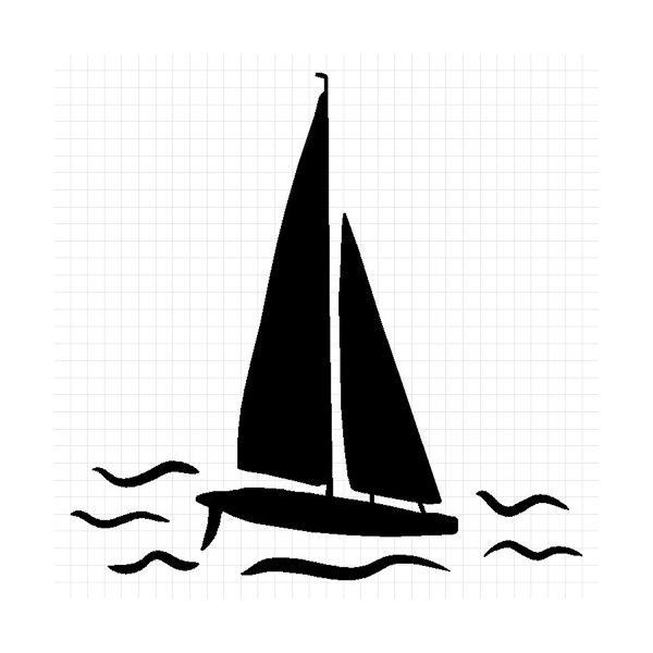 ヨット ステッカー cuttingsoul 02