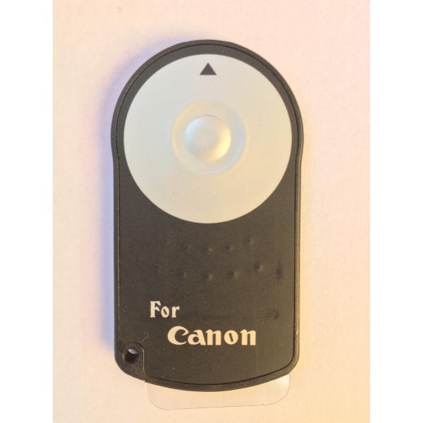 【新品・未使用 】 Canon RC-6 互換 シャッター リモコン EOS 7D 6D / Kiss X7i X6i 等 対応
