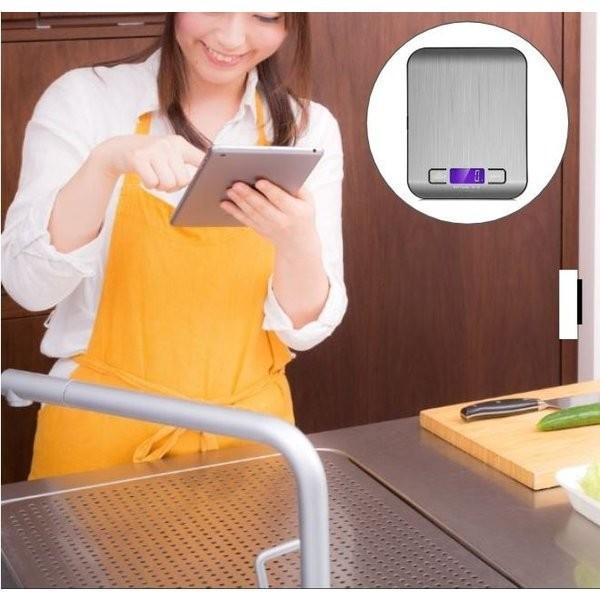 デジタルスケール キッチン はかり キッチンスケール 計り 秤 5000g|cwstore|04