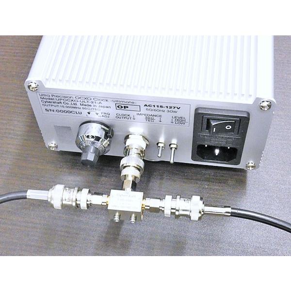 トランス型クロック信号2分配器 cybershaft 02