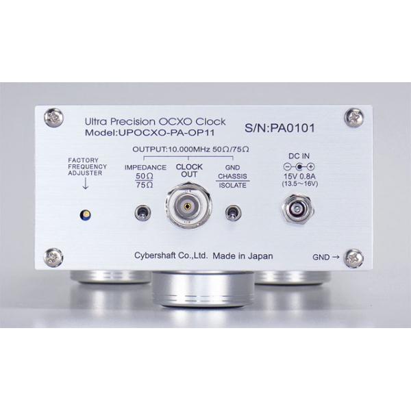 超高精度OCXO 10MHzマスタークロック Palladium OP11【単出力・外部DC専用】 cybershaft 03
