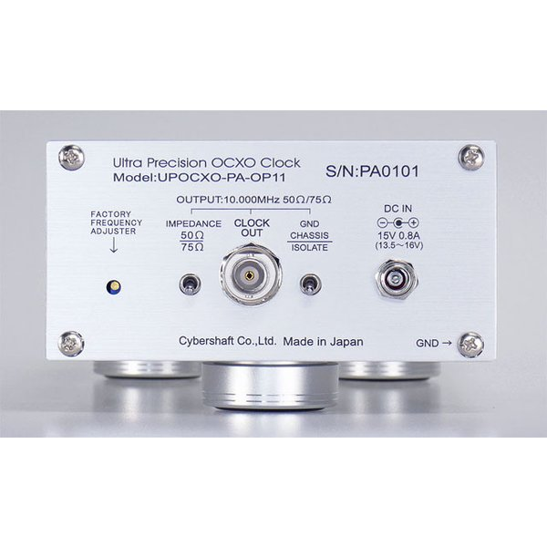 超高精度OCXO 10MHzマスタークロック Palladium OP12【単出力・外部DC専用】|cybershaft|03