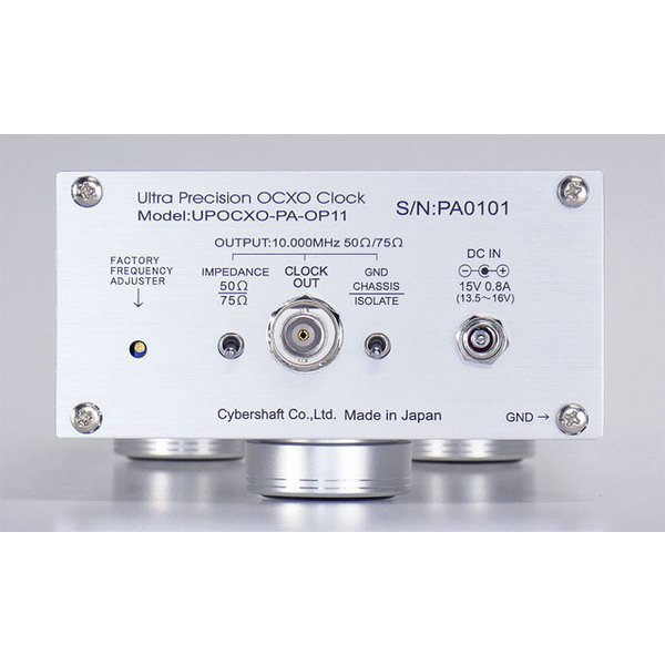 超高精度OCXO 10MHzマスタークロック Palladium OP15【単出力・外部DC専用】|cybershaft|03