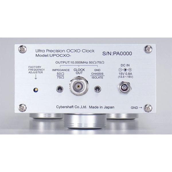 超高精度OCXO 10MHzマスタークロック Silver【単出力・外部DC専用】|cybershaft|03