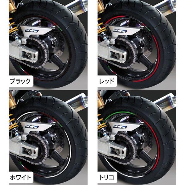 【MDF】トリコローレリムストライプ 《全4種》 イタリアン リムステッカー エムディーエフ タイヤ ホイール ホイル オートバイ 二輪 バイク用品|cycle-world|02