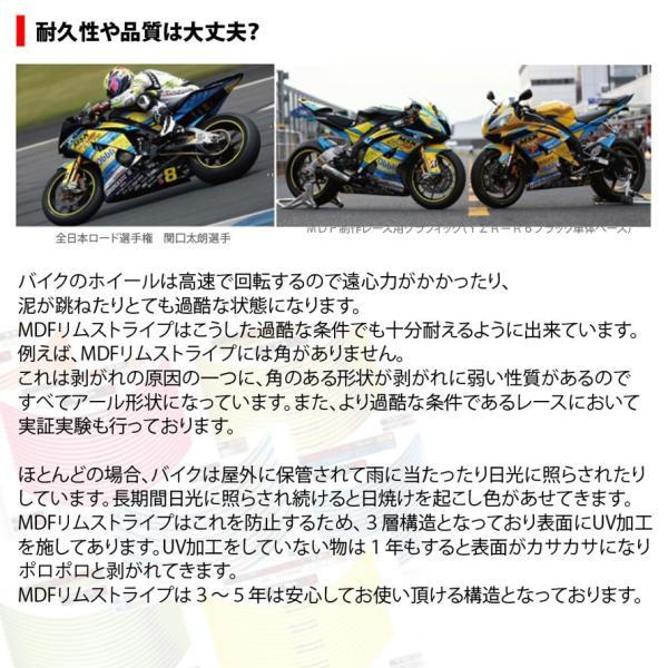 【MDF】トリコローレリムストライプ 《全4種》 イタリアン リムステッカー エムディーエフ タイヤ ホイール ホイル オートバイ 二輪 バイク用品|cycle-world|06