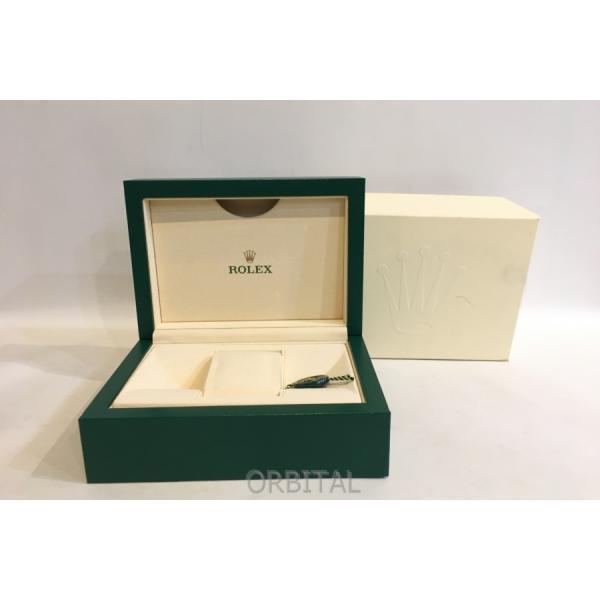 二子玉)ROLEXロレックス純正品ケース箱保存ボックス箱のみグリーン緑美品