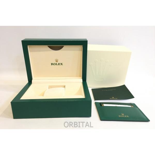 二子玉)ROLEXロレックス純正品ケース箱保存ボックス箱のみグリーン緑美品冊子カード付属