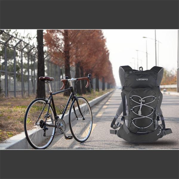 サイクリングバッグ 軽量 コンパクト ハイドレーション対応 ロードバイク バックパック リュックサック 10L 送料無料 LEOSPO IncaTure12|cyclingnet|04