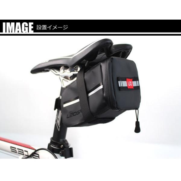 防水サドルバッグ 2個セット サイクリング ロードバイク 自転車 クロスバイク 送料無料 LEOSPO LS-10138x2set|cyclingnet|05