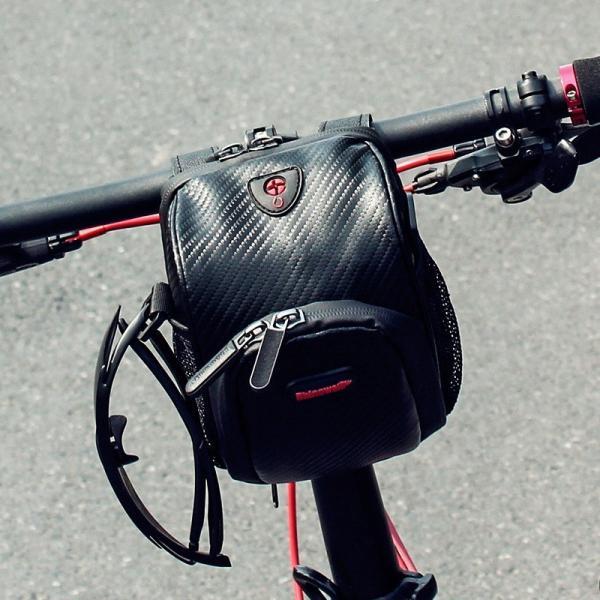 フロントバッグ サイクルフロントバッグ ハンドルバーバッグ 防水 自転車 ロードバイク 3WAY 送料無料 Rhino/LS091|cyclingnet|04