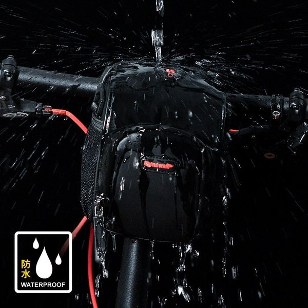 フロントバッグ サイクルフロントバッグ ハンドルバーバッグ 防水 自転車 ロードバイク 3WAY 送料無料 Rhino/LS091|cyclingnet|06