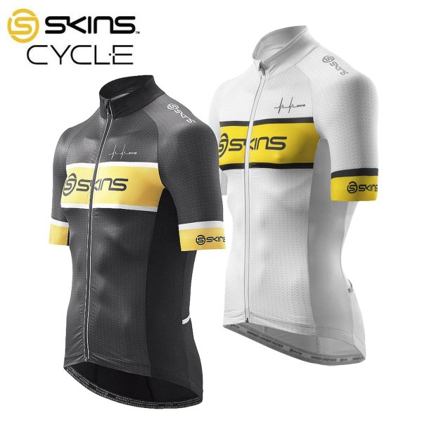 3e17b811865ec1 取寄】[10%OFF]SKINS Cycle Team Jersey スキンズ サイクル チーム 半袖 ...