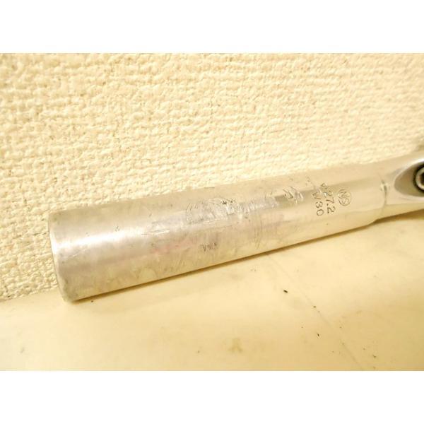シートポスト 27.2mm 日東 シートポスト SP72 W30 170/27.2mm NJS アルミ - 中古|cycly|02