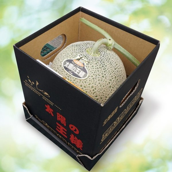富良野山部産赤肉メロン太陽の王様2.2kg 1玉|cyuoseika|05