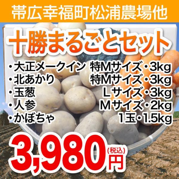帯広幸福町松浦農場十勝まるごとセット野菜セット・1箱