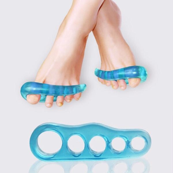 2個 外反母趾 内反小趾 矯正 補正 補助 サポーター セパレーター 脚 足 美容 健康
