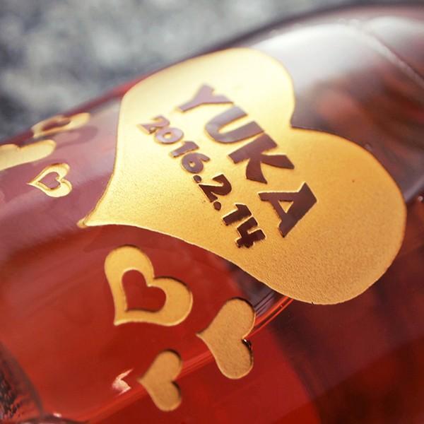 名入れ彫刻 マルティーニ ミニ ロゼ&アスティ 200ml オリジナルデザイン 彫刻ペアボトル ワイン ギフト 感謝 ありがとう 誕生日|d-craft|05