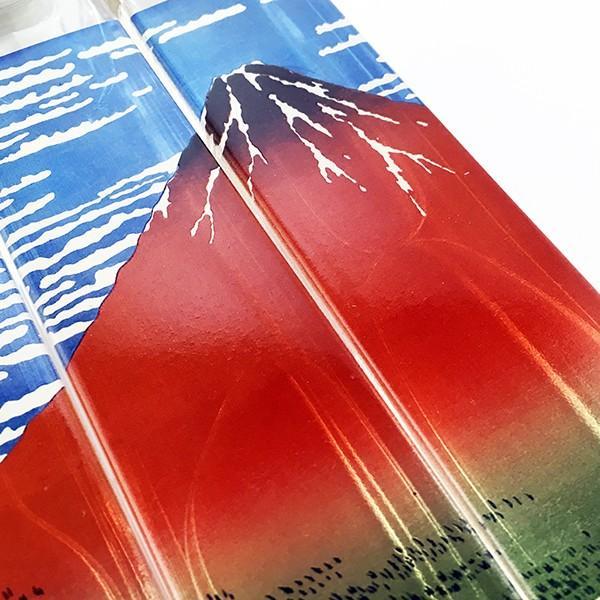 名入れ 日本酒 清酒 飲み比べ 宝山 ひとのみの酒 名入れもできる 葛飾北斎 赤富士 凱風快晴 浮世絵組み絵ボトル 200ml×3本ギフトセット(本醸造 純米 大吟醸) d-craft 04