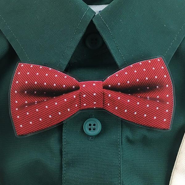 父の日 おしゃれ Yシャツにもつけられる蝶ネクタイクリップ アクリル製 2種 5色 蝶タイ メモ マネー クリップ d-craft 02