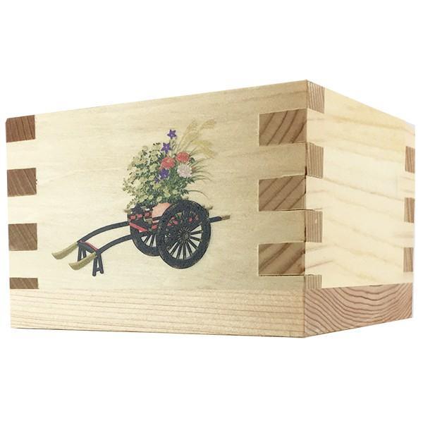 カラー印刷 絵柄が選べる 浜田酒造 オリジナル絵柄の升付き 米沢の樽酒 1800ml 日本酒|d-craft|04