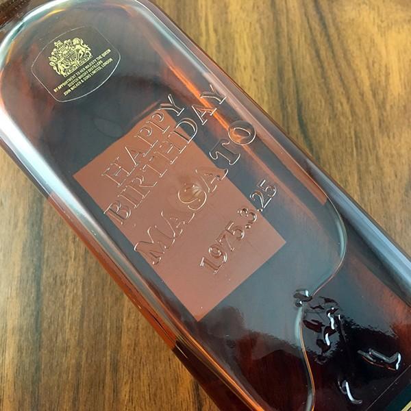 名入れ ウイスキー whisky 好きなカラーが選べる ジョニーウォーカー ブラック オリジナル名入れプリントボトル 700ml|d-craft|02