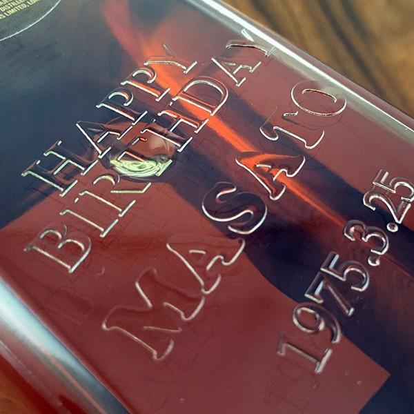 名入れ ウイスキー whisky 好きなカラーが選べる ジョニーウォーカー ブラック オリジナル名入れプリントボトル 700ml|d-craft|03
