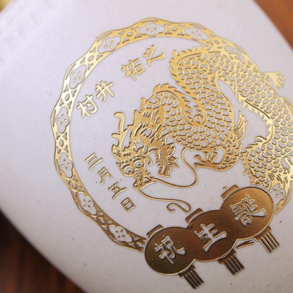 中元 名入れ ギフト プレゼント 紹興酒 珍蔵 オリジナルデザイン名入れ 白壷 陳年紹興酒 500ml 名字雕刻 中国酒|d-craft|04