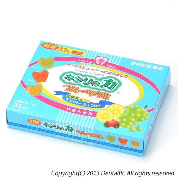 キシリの力 フルーツグミ 1箱(31粒)(メール便2点まで)