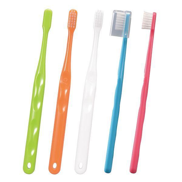 歯ブラシ Ci700 極薄ヘッド (超先細+ラウンド毛) スライドキャップ付 Mふつう 50本入り