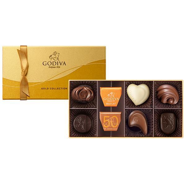 ◆〈ゴディバ〉ゴールド コレクション(8粒入)-G-20[E]glm【YHO】_C200826800002