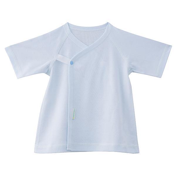 〈アルティママ〉短肌着 ブルー-サイズ60[IN]kids【YHO】_C200901700027002