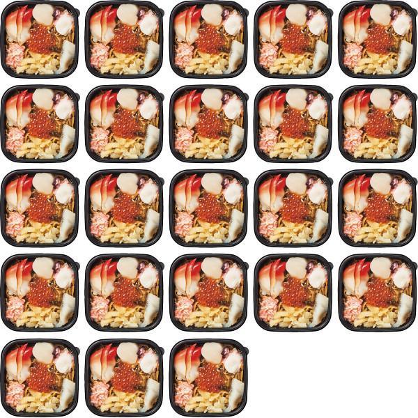 7種の具材を使った海鮮松前漬(個食タイプ)