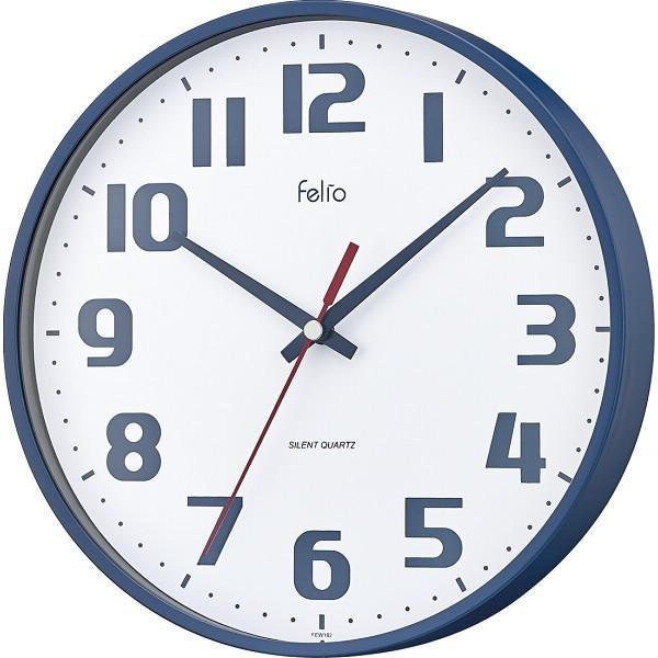 Felio インテリア掛時計 チュロス FEW182NB-Z