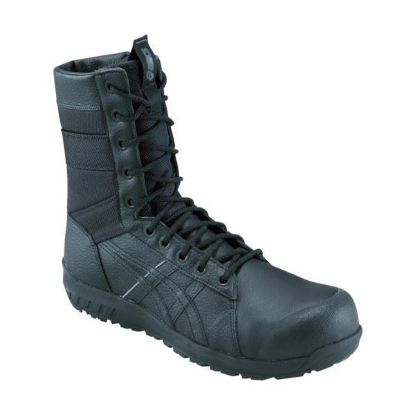 アシックス ウィンジョブCP402 ブラック×ブラック 27.0cm 1271A002.00127.0