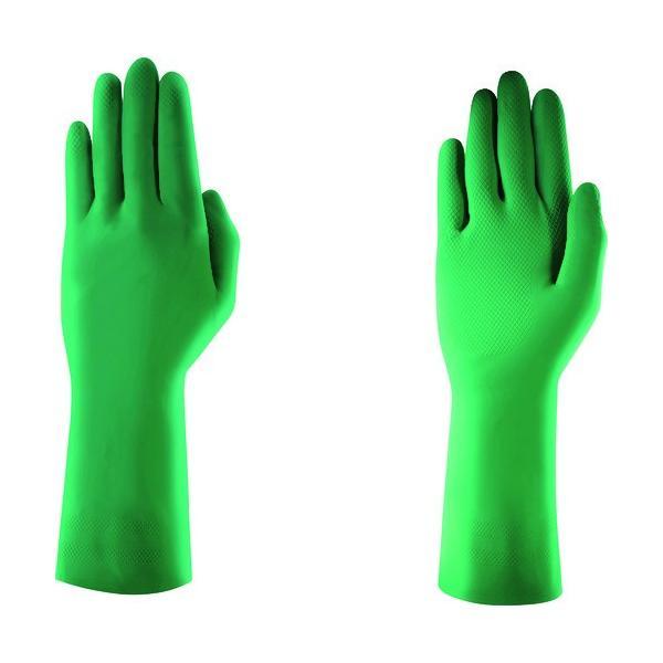 アンセル 耐油ニトリル薄手手袋 アルファテック ソルベックス 37-843 Mサイズ 378438