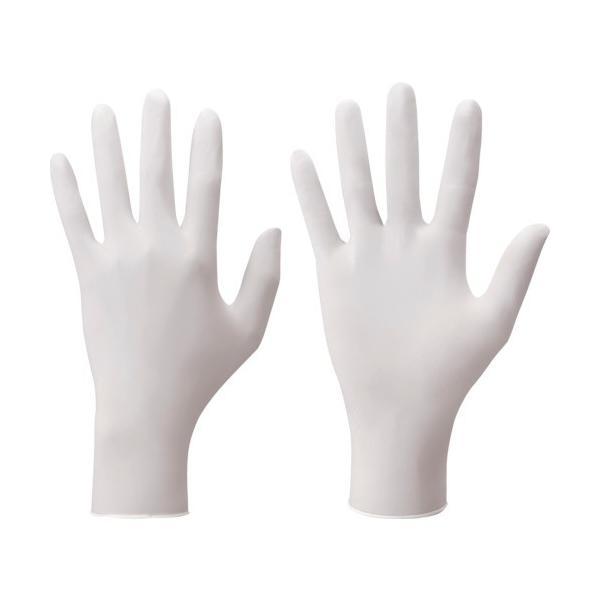 ショーワ ニトリルゴム使い捨て手袋 No884 ニトリスト・ホワイト 100枚入 Mサイズ NO884M