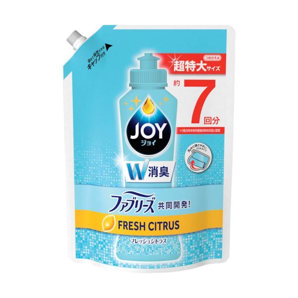 P&G ジョイ コンパクト 食器用洗剤 W消臭 フレッシュシトラス 詰め替え 超特大 960mL 903172