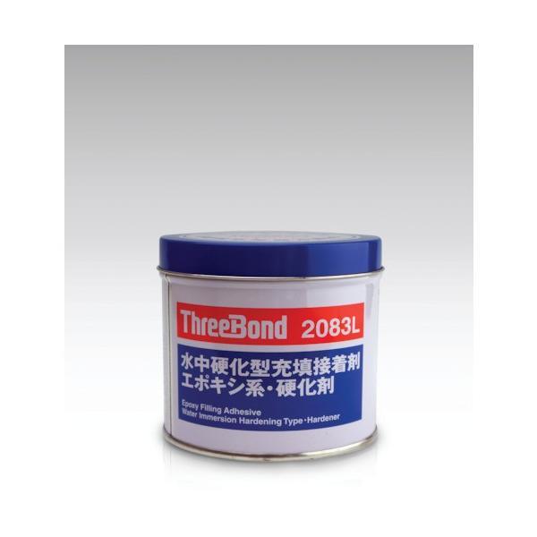スリーボンド エポキシ樹脂系接着剤 湿潤面用 TB2083L 硬化剤 1kg 青緑色 TB2083L1K