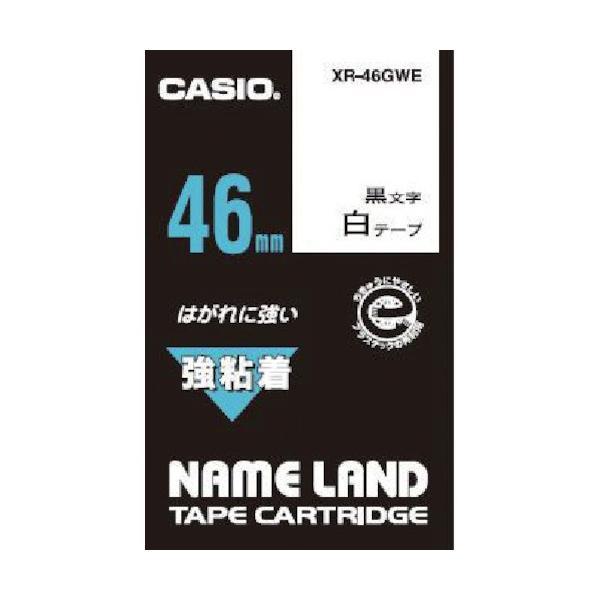 カシオ ネームランド用強粘着テープ46mm XR46GWE