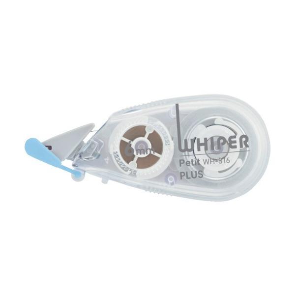 プラス 修正テープ ホワイパープチ 6mm ホワイト (49323) 49323