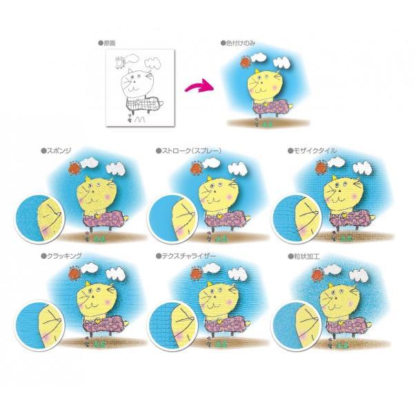 フォトフレーム 子供の絵で作る雑貨 子供の絵 アートデザイン オリジナルグッズ 子供誕生日プレゼント|d-pop-pro|03