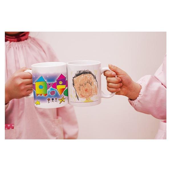 マグカップ(大)子供の絵で作る雑貨 子供の絵 アートデザイン オリジナルグッズ 子供誕生日プレゼント|d-pop-pro