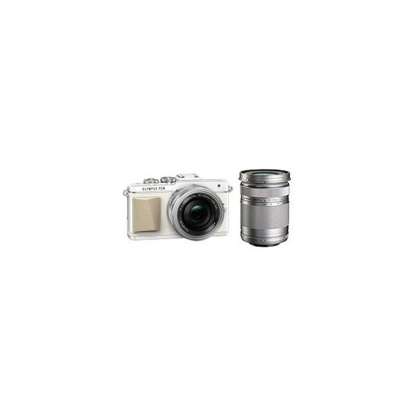 OLYMPUS PEN Lite E-PL7 EZダブルズームキット [ホワイト] 【デジタル一眼カメラ】