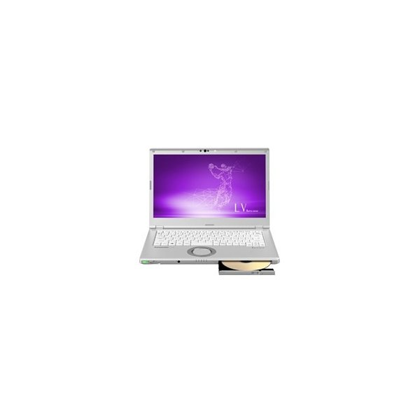 Panasonic CF-LV7CFBQR ノートパソコン Let's note(レッツノート) LVシリーズ【LTE対応モデル】 シルバー [14.0型 /intel Core i5 /SSD:256GB /メモリ:16GB /2019年春モデル]の画像