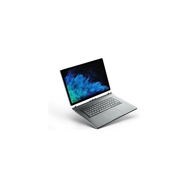 FUX-00023 Windowsタブレット ノートパソコン Surface Book 2 (サーフェスブック2) シルバー [15.0型 /intel Core i7 /SSD:512GB /メモリ:16GB /2019年1月モデル]の画像