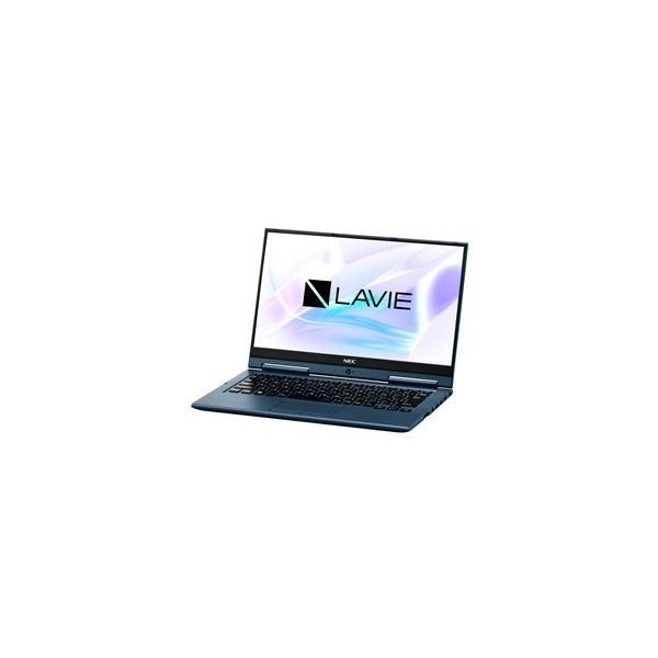NEC PC-HZ500LAL ノートパソコン LAVIE Hybrid ZERO インディゴブルー [13.3型 /intel Core i5 /SSD:128GB /メモリ:4GB /2018年10月モデル]の画像