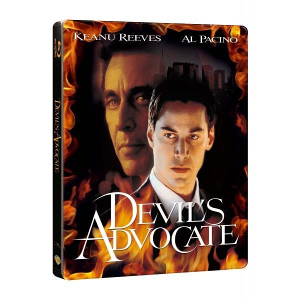 新品 送料無料 ディアボロス/悪魔の扉 ブルーレイ版 スチールブック仕様 (数量限定生産) DEVIL'S ADVOCATE Blu-ray|d-suizan-p