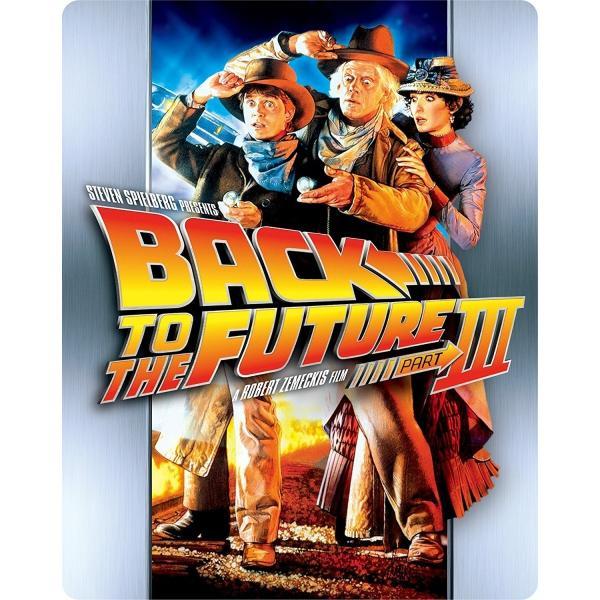 新品 送料無料 【Amazon.co.jp限定】バック・トゥ・ザ・フューチャー PART3 30thアニバーサリー・スチールブック・ブルーレイ  Blu-ray