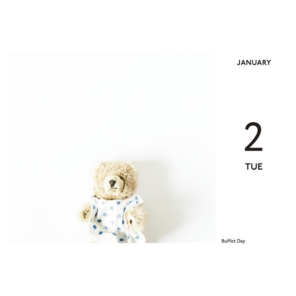 A VERY MERRY EVERY DAY to you 2018(カレンダー)|d-tsutayabooks|03
